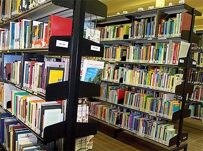 Bibliotheek boeken over honden